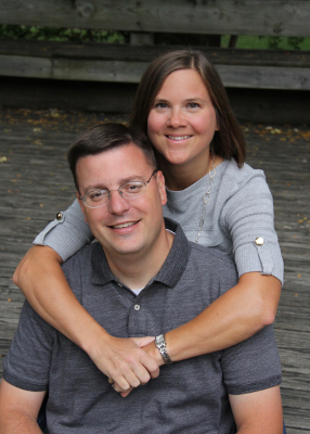 Pastor Jeremy Penrod and wife Marcy